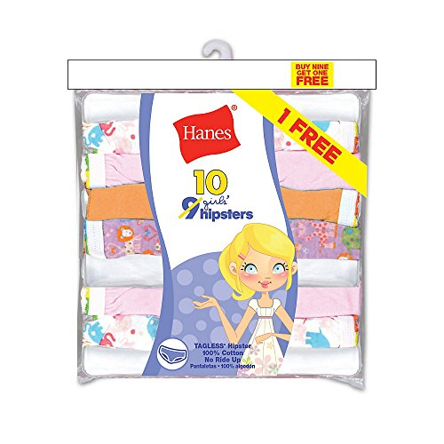 Hanes Girls ComfortSoft 10 Pack Hipster product image