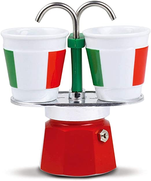 ODDINER Café Moka Pot Mocha Pot Espresso Cafetera Pareja Dobles ...