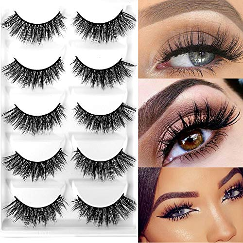 CerroQreen Eyelashes Hand Made Dramatic Crisscross product image