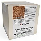 1.8 kg or 4 lb Ground Walnut Shell Media Abrasive