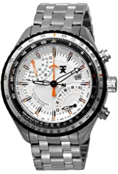 TX Men's T3C432 600 Series Pilot Fly-back Chronograph Dual-Time Zone Watch