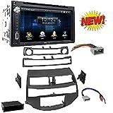 Car Radio Stereo Install Dash Kit Harness Antenna for 2008-2012 Honda Accord