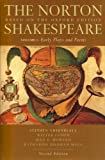 The Norton Shakespeare: Based on the Oxford Edition (Second  Edition)  (Vol. 1: Early Plays and Poems)