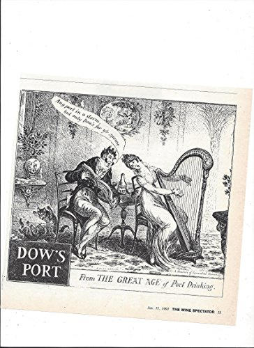 Dow Port (--Magazine PRINT AD-- For 1993 Dow's Port Illustrated --PRINT AD--)