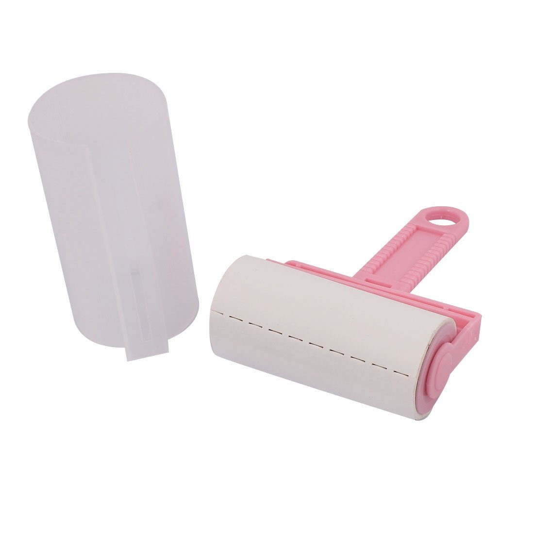 Utoolmart 6 inch Home Carpet Hair Dust Remover Clothes Cleaning Sticky Lint Roller Aluminium alloy Handle 1pcs