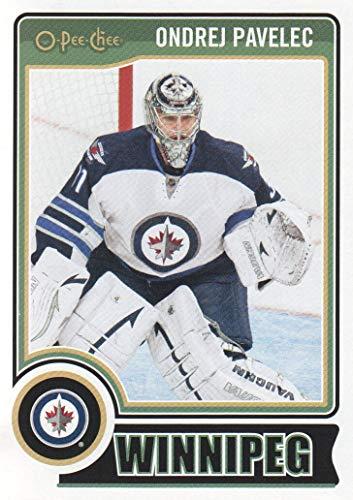 2014-15 O-Pee-Chee Hockey #371 Ondrej Pavelec Winnipeg Jets