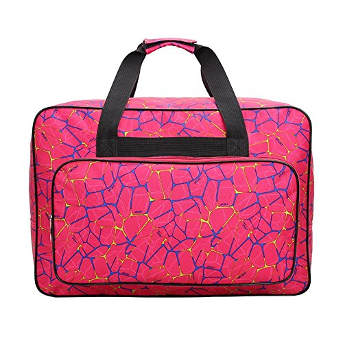 Sewing Everpert Tote Red Capacity Large Rose Travel Machine Bag Unisex Bags Portable Sports wq4H8w