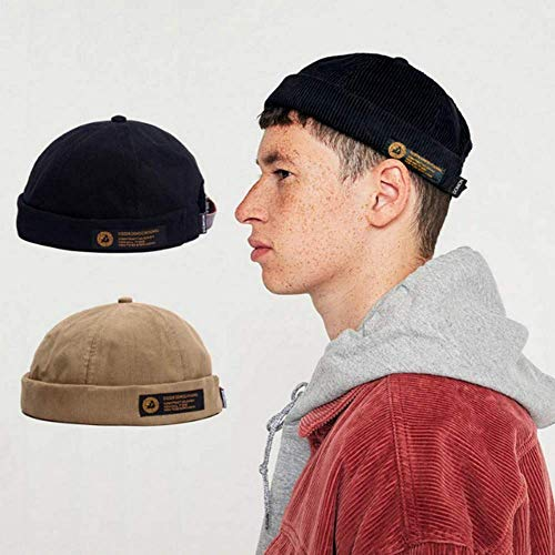 Clape Watch Cap Commando Work Beanie Corduroy Docker Leon Brimless Hat  Rolled Cuff Harbour Hat 3b4e08a9a4f1