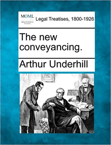 Book The new conveyancing.