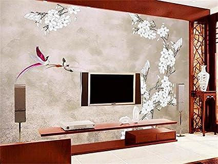 Color Prugna Per Pareti : Weaeo carta da parati 3d murale personalizzato foto non tessute