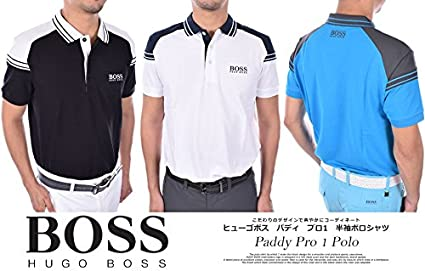 terrific value search for genuine wide selection of designs Amazon.com: Hugo Boss Paddy Pro 1 Polo Shirt Men Blue (S ...