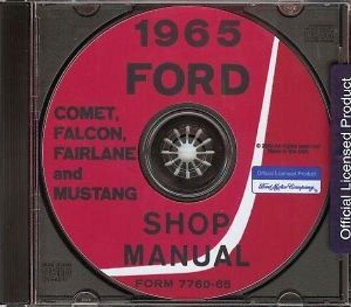 1965 mustang repair manual - 6