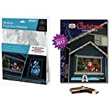 AtmosFEARfx Christmas Digital Decorations Kit on USB stick includes AtmosFX 4 ft x 6 ft Projection Screen + AtmosCHEERfx Christmas Playlist Compilation Video