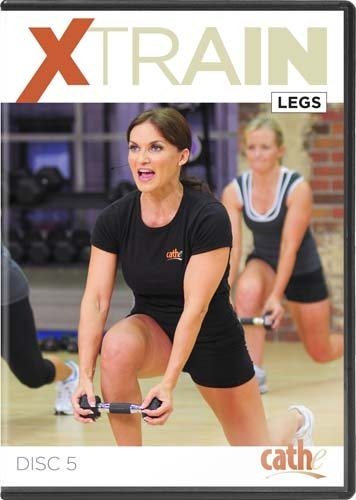 Cathe Friedrich's XTrain Series: Legs and Rear Delts DVD