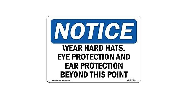 Letrero de Osha - desgaste de sombreros duros, protección ...