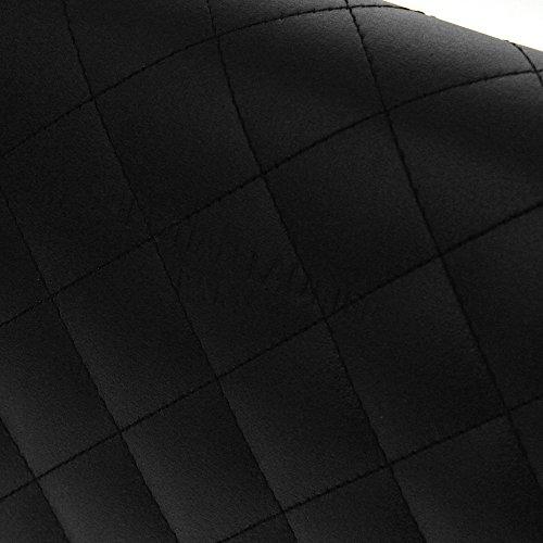 Christian Laurier - Sac à main en cuir modèle Keri noir - Sac à main haut de gamme petit modèle fabriqué en Italie