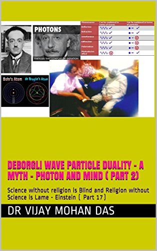 DeBorgli Wave Particle duality - A Myth - Photon and Mind
