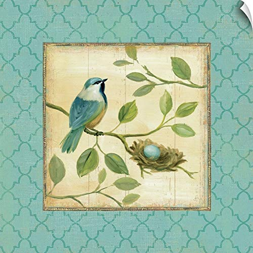 CANVAS ON DEMAND Birds Home I Wall Peel Art Print, 10