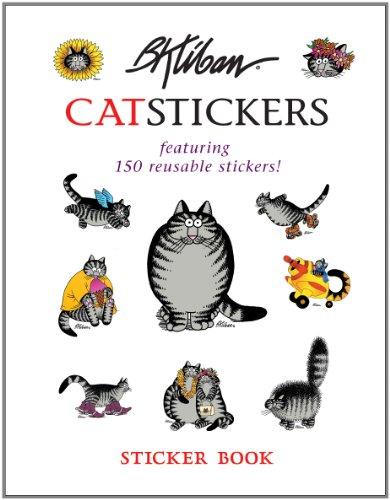 B. Kliban Cat Stickers Sticker Book