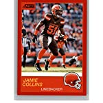 best authentic 21bf6 b8840 Jamie Collins Sr. Cleveland Browns Game-Used #51 White ...