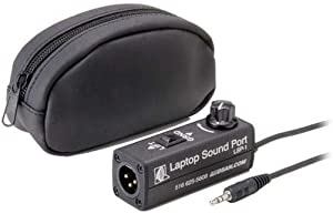DSAN Laptop Sound Port Compact Adapter with Ground Lift Switch