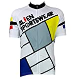 MIRACLE Men's Outdoor sports Breathable Short Sleeve Cycling Jersey