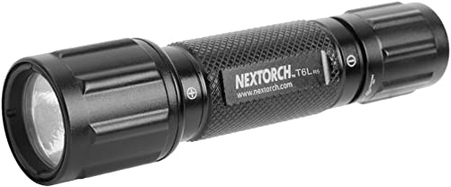 NEXTORCH T6L R5 320 Lumen 3-watt Cree LED Supreme Tactical Flashlight Set with 2 x CR123A Batteries