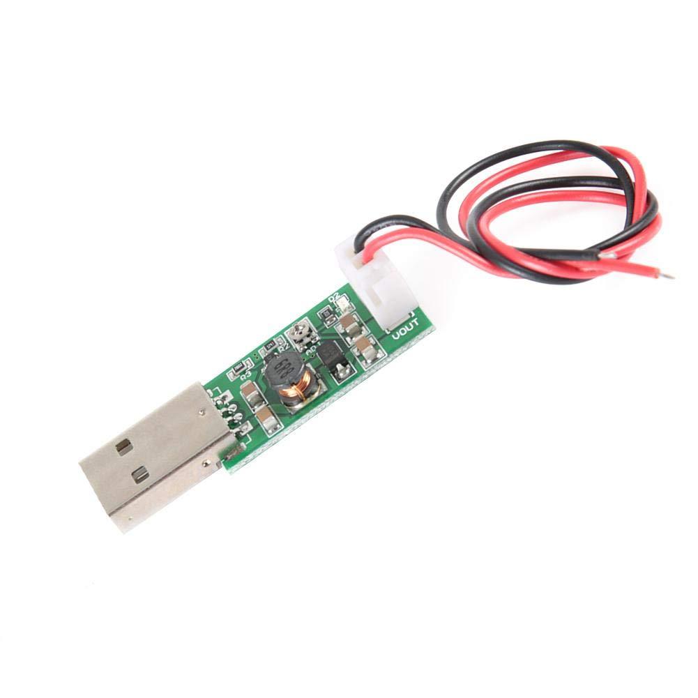 DC-DC Boost Converter 7W USB DC 5V a 6V 9V 12V 15V Voltaje de Salida Ajustable Junta Reguladora Incremental