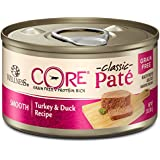 Wellness Core Natural Grain Free Wet Canned Cat Food, Turkey & Duck, 3-Ounce Can, Pack Of 12