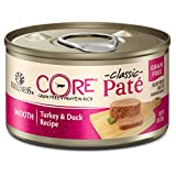 Wellness CORE Natural Grain Free Wet Canned Cat Food - Turkey & Duck - 3-Ounce Can - Pack of 12