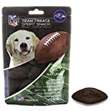 Nfl Baltimore Ravens Dog Food Snack Treat Bone-Free. Dog Training Cookies Tasty Biscuits For Dog Rewards. Provides Healthy Dog Teeth & Gum, Soy-Free, Gluten-Free. For Sale