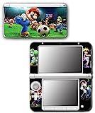 Mario Sports Superstars Tennis Soccer Golf Video Game Vinyl Decal Skin Sticker Cover for Original Nintendo 3DS XL System