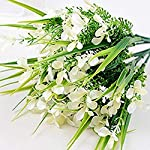 MARJON-FlowersArtificial-Gladiolus-Flower-Home-Office-Wedding-Countryside-Party-Floral-Decor-White