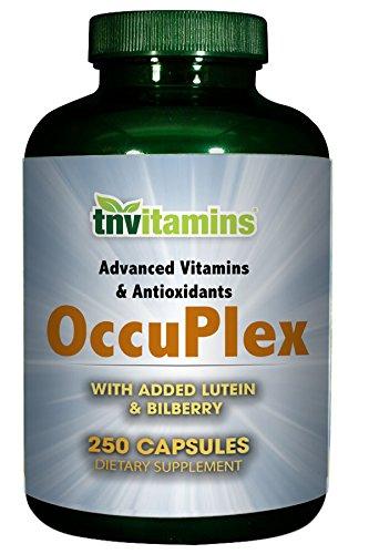Occuplex Capsules - Vision Support Formula - 250 Capsules