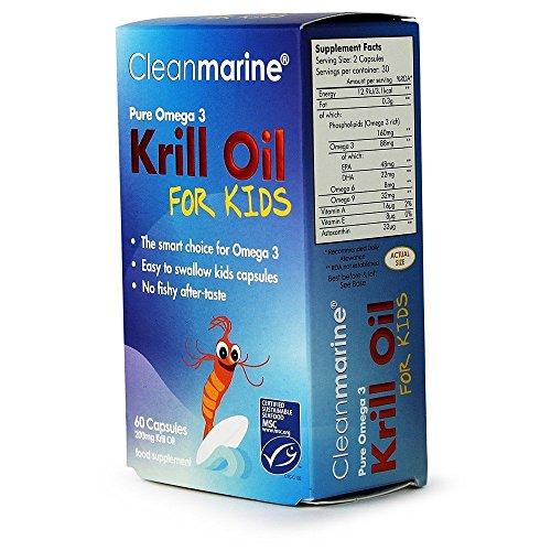 Cleanmarine krill oil kids tablets