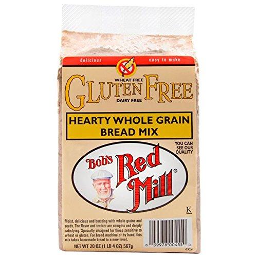 Bob's Red Mill Gluten Free Whole Grain Bread Mix, 20 oz (Grain Free Whole Bread Gluten)