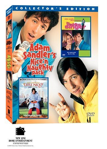 Amazon Adam Sandler Nice Naughty Gift Pack The Wedding Singer Little Nicky Drew Barrymore Patricia Arquette Christine Taylor