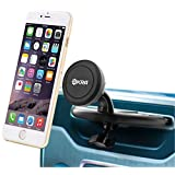 [Lifetime Warranty] Okra® Universal Powerful Magnetic CD Slot Car Mount Cradle-less for all Smartphones & GPS, Apple iPhone 6 Plus 6 5S 5 4S Samsung Galaxy S6 S5 S4 Note 4 3 2 (Retail Packaging)