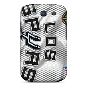 Samsung Galaxy S3 OMs5181HDAH Allow Personal Design Trendy San Antonio Spurs Skin Great Hard Phone Cover -TimeaJoyce