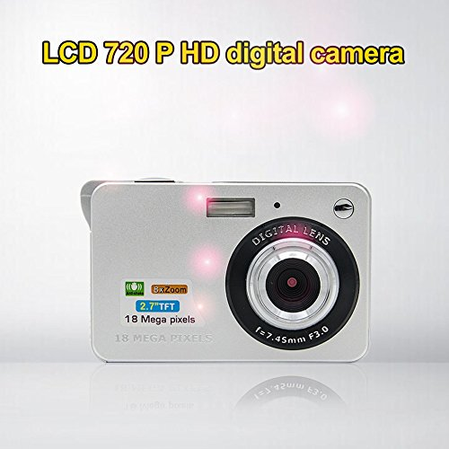 Fosa Mini Digital Camera with 2.7 Inch TFT LCD Display,18 Me