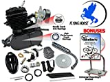 66/80cc Flying Horse Black Angle Fire Bicycle Engine Kits - 2 Stroke
