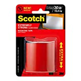 Scotch Extremely Strong Mounting Tape, Double Sided Foam Tape, Extra Wide, 2 in x 48 in (5.08 cm x 1.21 m), 414-48WIDSCSFEF