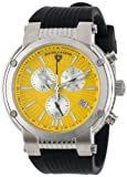 Swiss Legend Men's 10006-07Y-SB Legato Cirque Collection Chronograph Rubber Watch, Watch Central