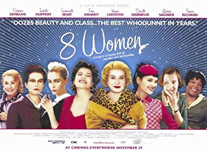 Catherine Deneuve 8 women DIEULOIS