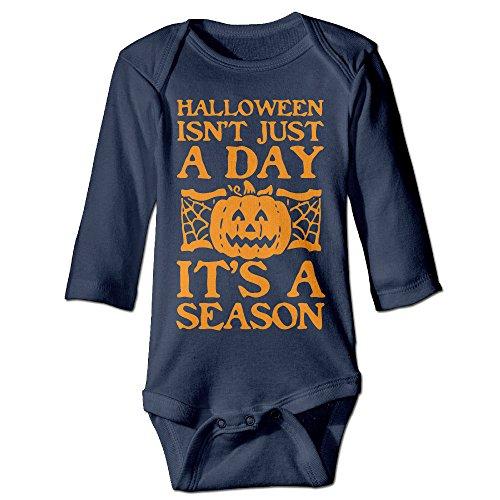 HALLOWEEN IS A SEASON Long Sleeve Baby Onesie Clothing]()