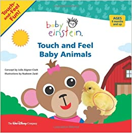 Baby Einstein Touch And Feel Baby Animals A Touch And