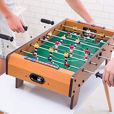 Mini Mesa de Madera de futbolín, Juego de fútbol Sala de Juegos ...
