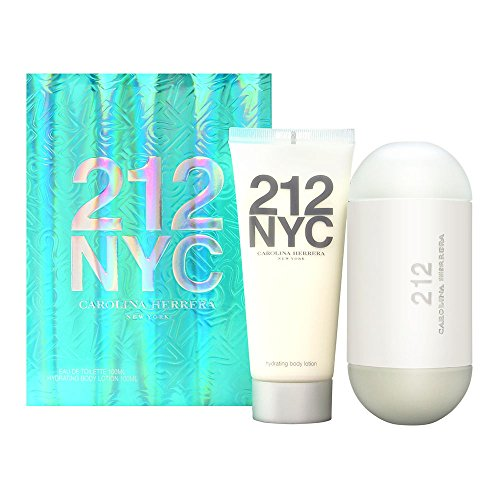 - Carolina Herrera Women Gift Set (Eau De Toilette Spray, Body Lotion)