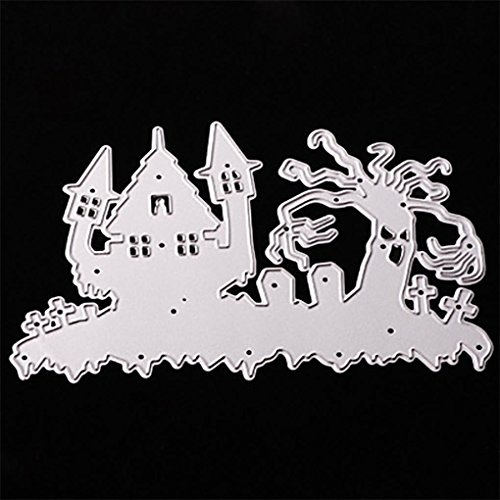 2019 Happy Halloween Die Cutting Dies Handmade Stencils Template Embossing for Card Scrapbooking Craft Paper Decor by E-Scenery -