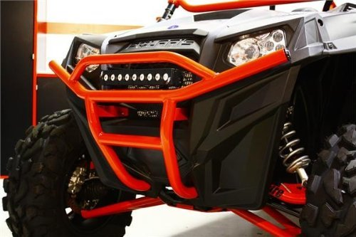 Dragonfire Racing Bumper Bash Front Red for Polaris RZR 800/4/S RZR 900 XP/4 All